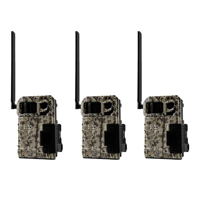 MICROV - 3PK SPYPOINT LINK MICRO Verizon 4G Cellular Hunting Trail Game Cameras (3 Pack)
