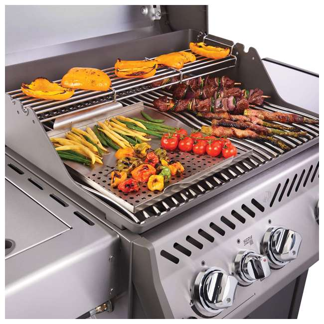 R425SIBPSS-OB Napoleon Rogue 425 Propane Gas Grill with Side  (Open Box) 4