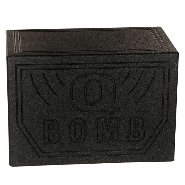 QBOMB10VL-SINGLE Q-Power QBOMB10VL Single 10-Inch Vented Subwoofer Box  (2 Pack) 4