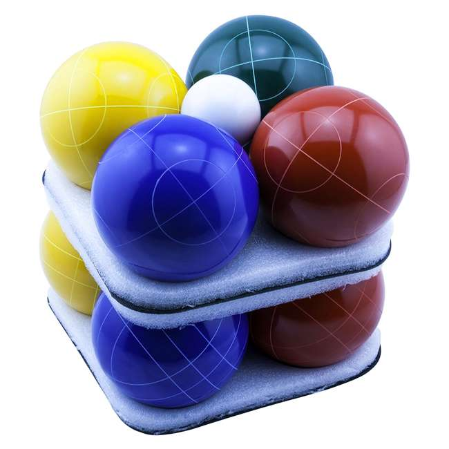BB-109E Park & Sun Sports Bocce Elite Pro 109mm Set with Carrying Bag 3