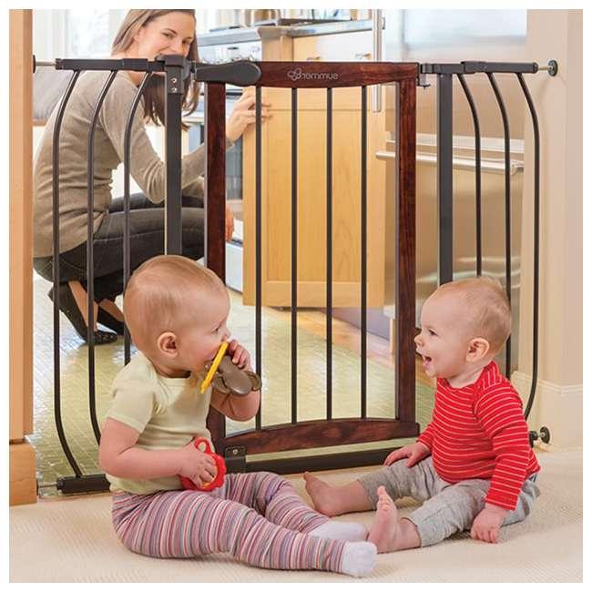 "27500A Summer Infant Anywhere Decorative Walk Thru Adjustable 42.5"" Baby Safety Gate 7"