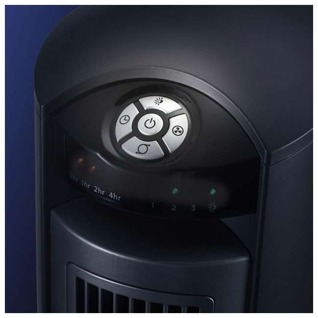 LKO-T42951-TN Lasko Wind Curve Nighttime Setting Tower Fan with Remote Control, Silver(2 Pack) 3