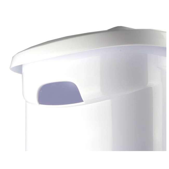 12228003-U-A Sterilite 12228003 Portable Wheeled Laundry Hamper-Open Box                4