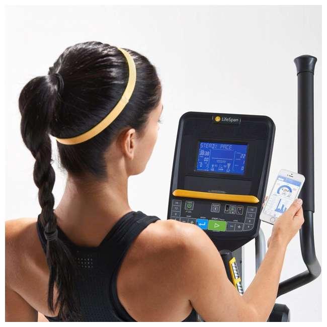 E2i LifeSpan E2i Magnetic Resistance Home Elliptical Cross Trainer Machine 4