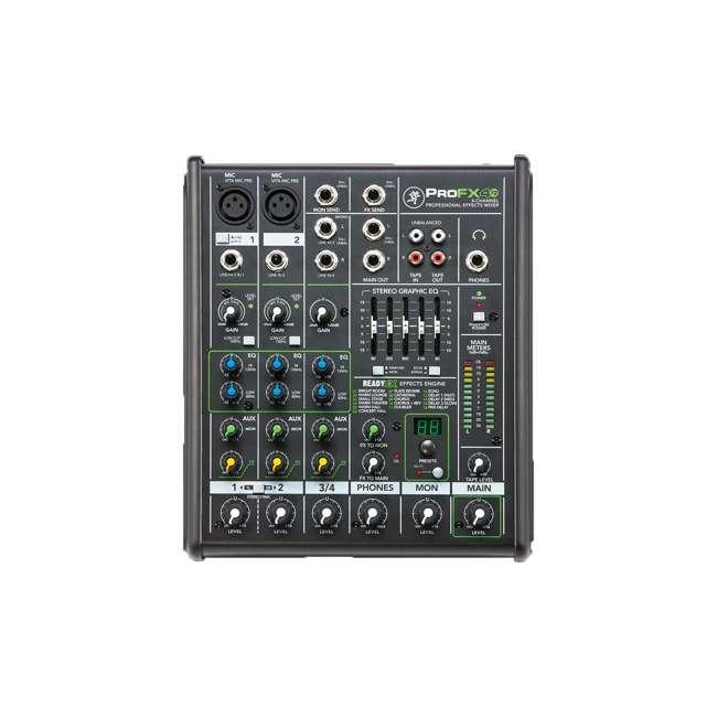 ProFX4v2-OB Mackie ProFX4v2 Live Sound 4-Channel Mixer 5