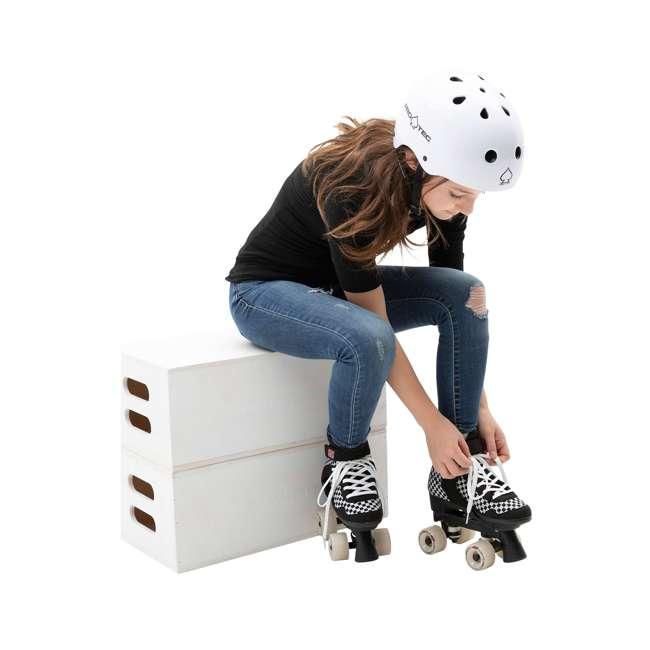 168221 Circle Society Street Checkered Kids Skates, Sizes 3 to 7 6