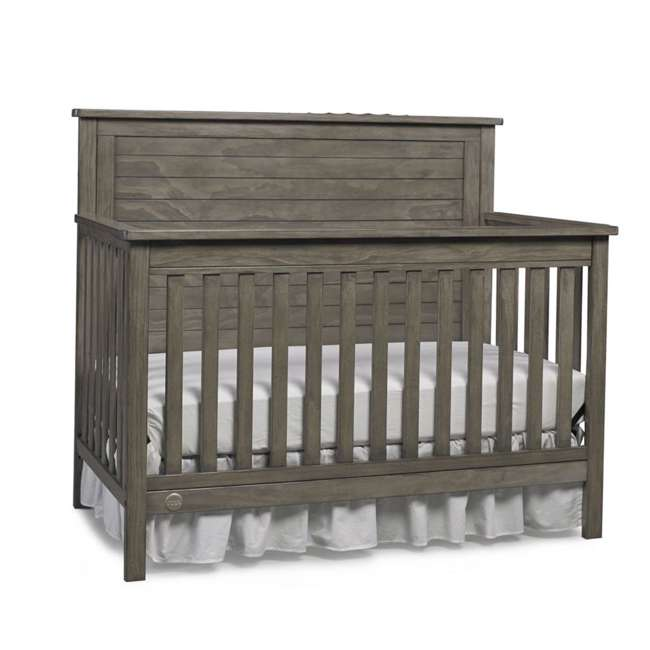 Fisher Price Quinn 4 In 1 Convertible Crib Vintage Grey
