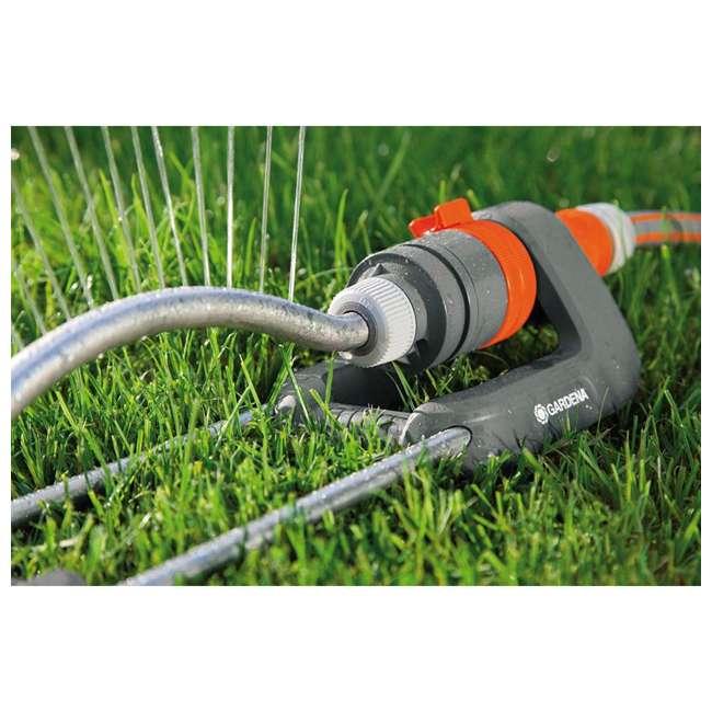 GARD-1980-U Gardena 1980 Polo Oscillating Sprinkler w/ Adjustable Spray Range 2