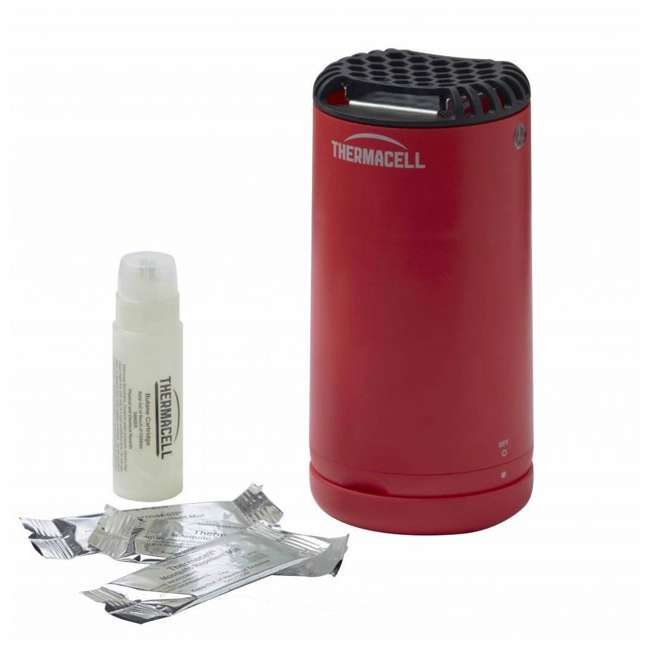 MRPSR Thermacell Outdoor Patio and Camping Shield Mosquito Insect Repeller, Fiesta Red 1
