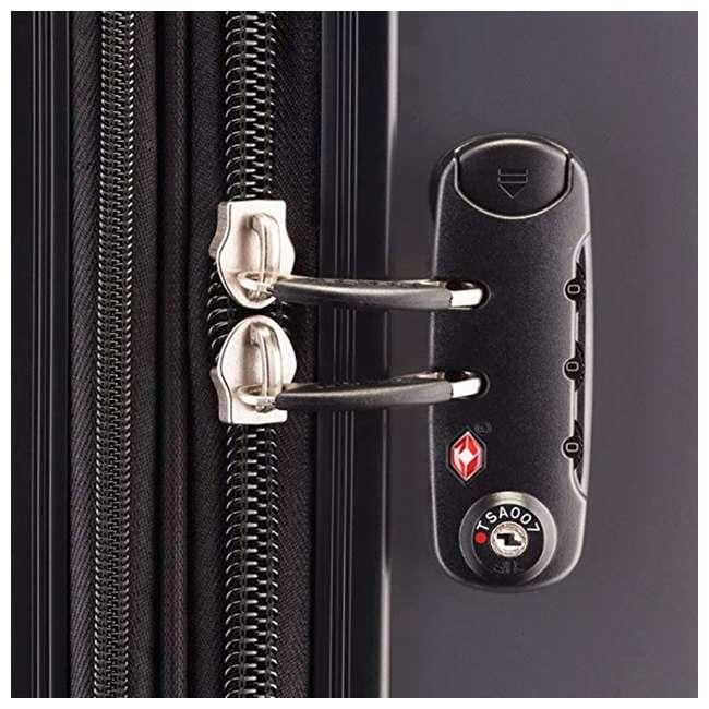 07647PL DELSEY Paris Helium Aero Expandable Medium Carry On Luggage Suitcase, Titanium 3