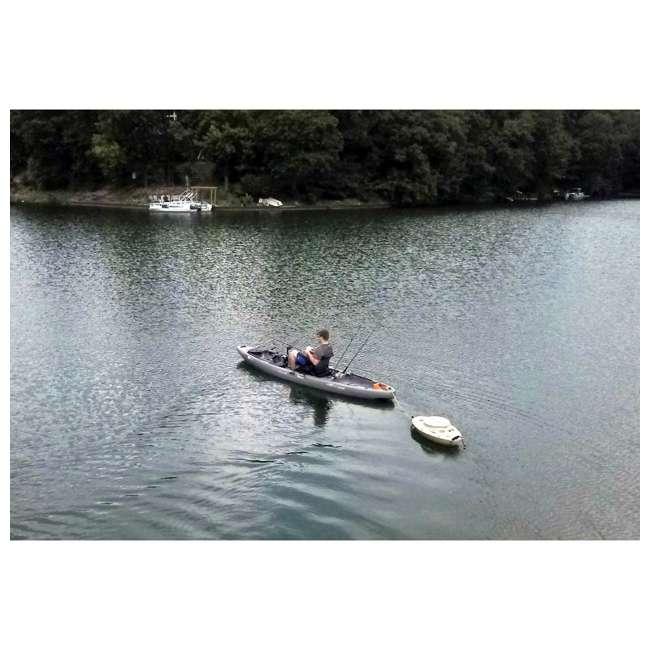 CK00227R-U-B CreekKooler Kayak or Canoe River Floating Beverage & Food Cooler, White (Used) 3