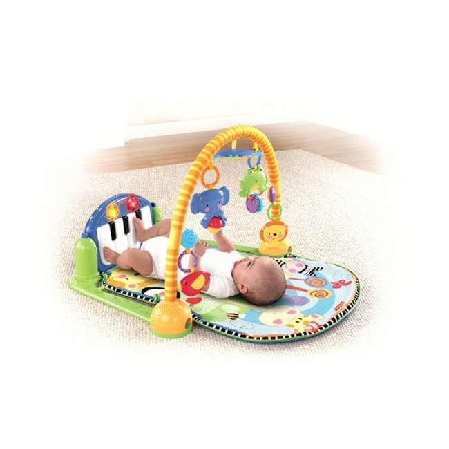 W2621 Fisher Price Kick & Play Piano Muscial Gym 1