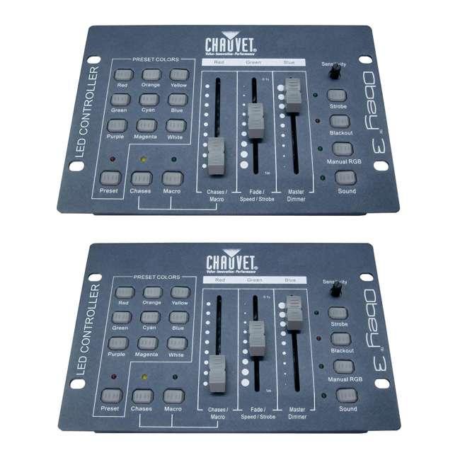 OBEY3 Chauvet DJ Obey3 DMX-512 Light Controller  (2 Pack)