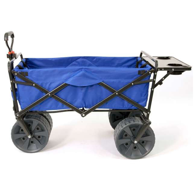 MAC-WTCB-107-BLUE-TABLE Mac Sports Collapsible Utility Wagon with Table (2 Pack) 1
