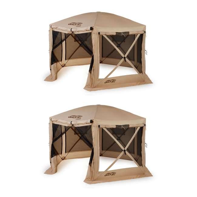 CLAM-PV-114244 Clam Quick-Set Pavilion Portable Canopy (2 Pack)