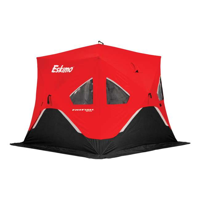 ESK-FF949 Eskimo FatFish Portable 3-4 Person Pop Up Ice Fishing Shelter