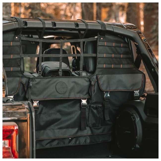 XG-301 XG Cargo XG-301 Jeep Wrangler JK & JL Sportsman Cargo Management Tool, Black 4
