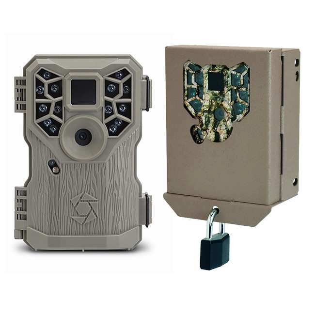 STC-PX14 + STC-BBPX Stealth Cam 8MP Infrared Game Camera with Security Box