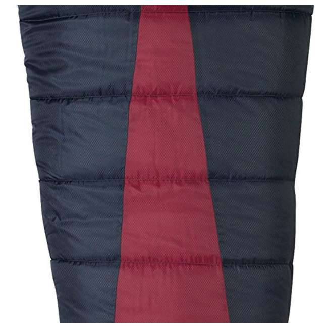 51723211RR Slumberjack Latitude Regular Zero Degree Sleeping Bag, Red (2 Pack) 3