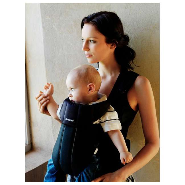 Active-BLACK-BLACK + Sun-Cover BabyBjorn Baby Carrier Active - Black/Black & Sun Cover Combo 2