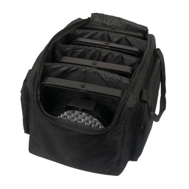KINTA-FX + 2 x F4PAR-BAG Chauvet DJ Beam Light with Laser, Strobe + Light Case (2 Pack) 7