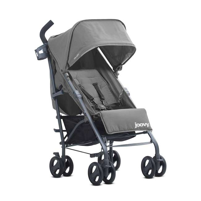 JVY-8129 Joovy Groove Ultralight Compact Canopy Umbrella Stroller, Charcoal 3