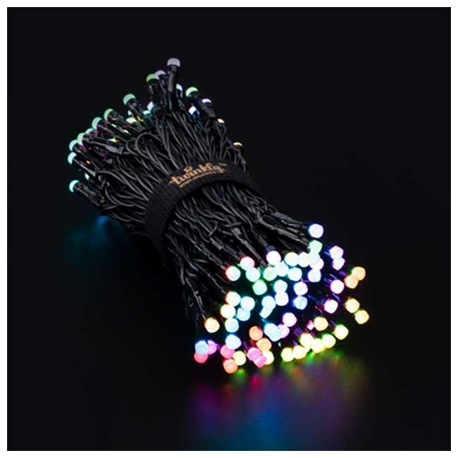 TWS150STP-BUS Twinkly Smart Decorations Custom 150 Bulb LED RGB App-Controlled String Lights 3
