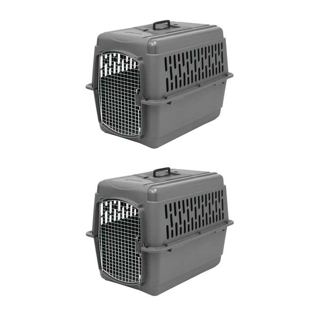 PM-21181 Aspen Pet Pet Porter Travel Carrier for 25-30 Pound Pets  (2 Pack)