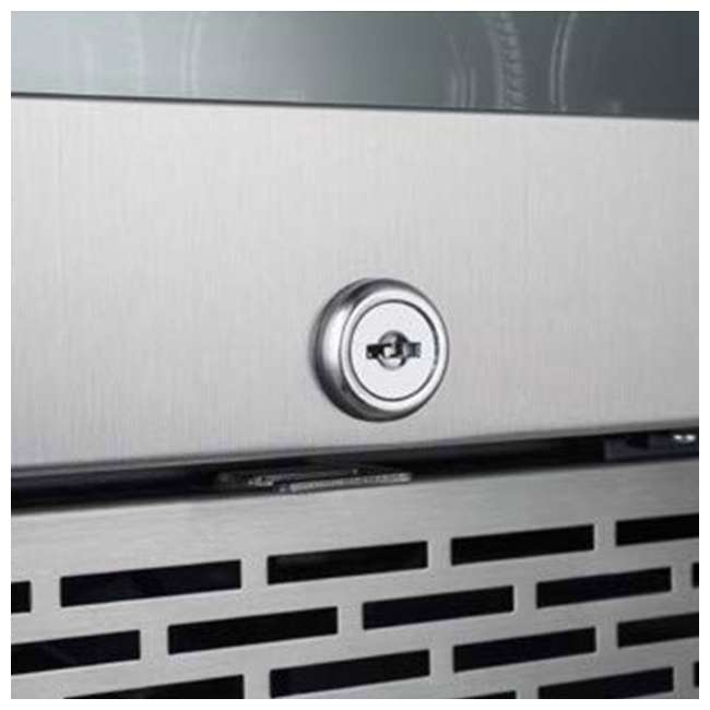 AWC151SZLH + AWC151SZRH Avallon 15 Inch Left & Right 27 Bottle Dual Zone Wine Cooler, Stainless Steel 9