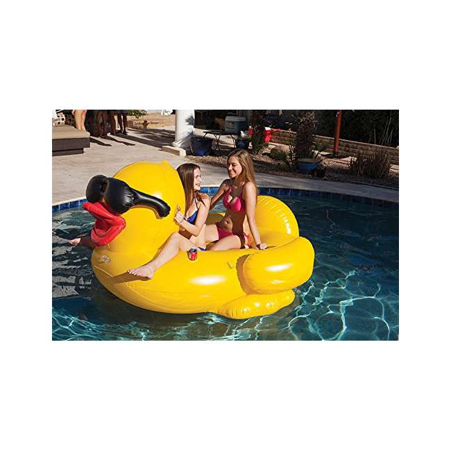 5000 GAME Giant Inflatable Riding Derby Duck(Open Box) 2