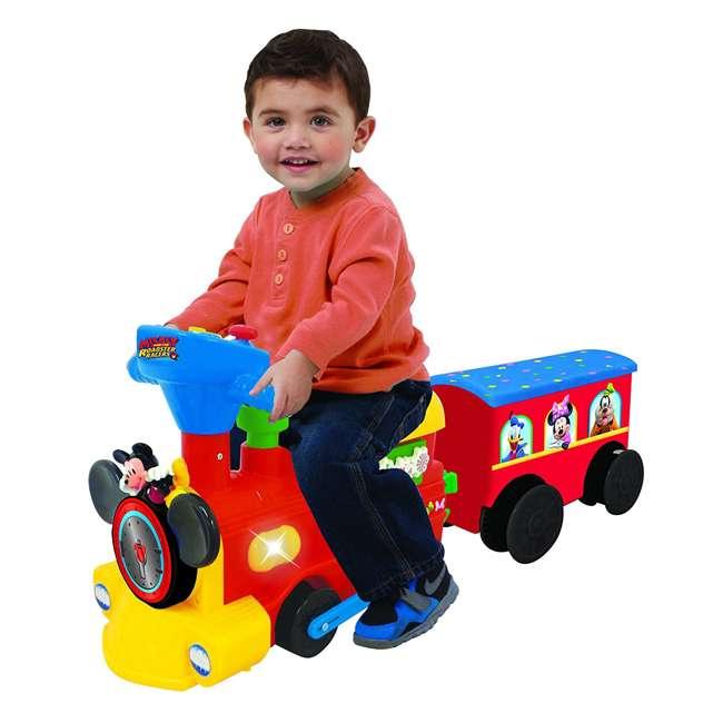 054080 Kiddieland Disney Mickey Mouse Battery-Powered Ride-On Train 3