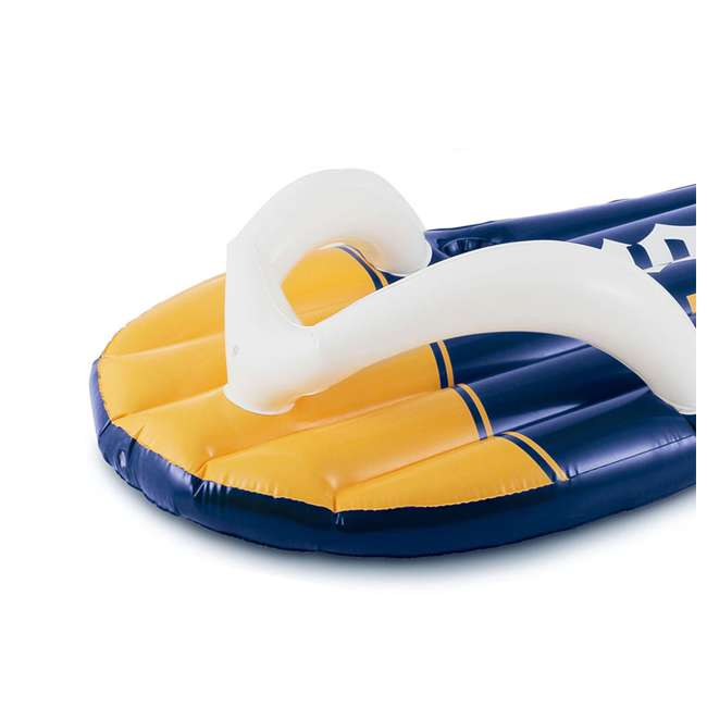 P20014482167 + K70927E00167 + KF0226B00167 14 Foot x 48 Inch Regular Frame Pool & Corona Flip-Flop Floats & Corona Cooler 5