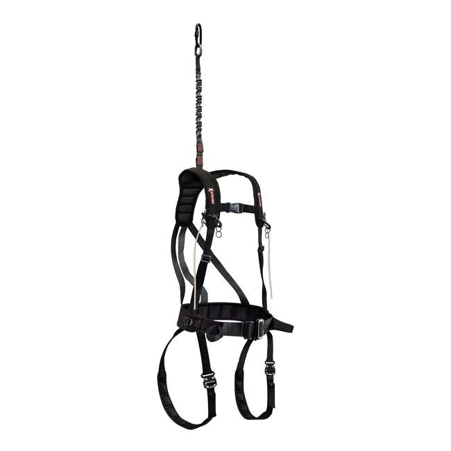 """XASA860-Y X-Stand XASA860 X Factor 28"""" Waist Deer Hunting Tree Stand Safety Harness, Youth"""