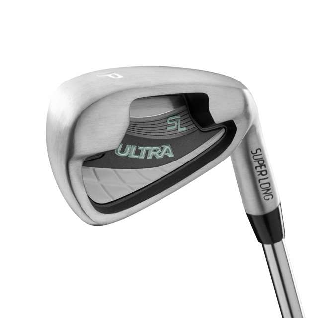 WGGC43300 Wilson Ultra Ladies Right-Handed Golf Club Set with Cart Bag 1