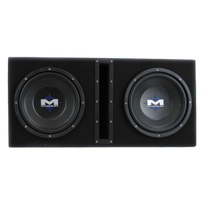 MB210SP-OB MTX MB210SP 10-Inch 1200W Dual Loaded Subwoofer Encolsure Package 1