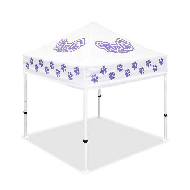 CVANPUP02010-U-A PupUp Portable Dog House Small Indoor Outdoor Canopy Shelter (Open Box) 1