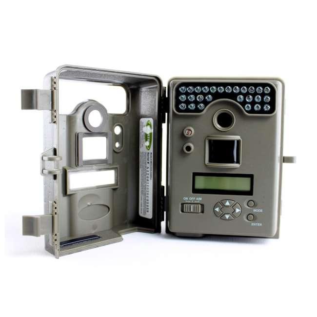 D55-IRXT + EZF30T D55IRXT - MOULTRIE Game Spy Digital Infrared Trail Hunting Camera + EZF30T 30Gal Tripod Feeder 9