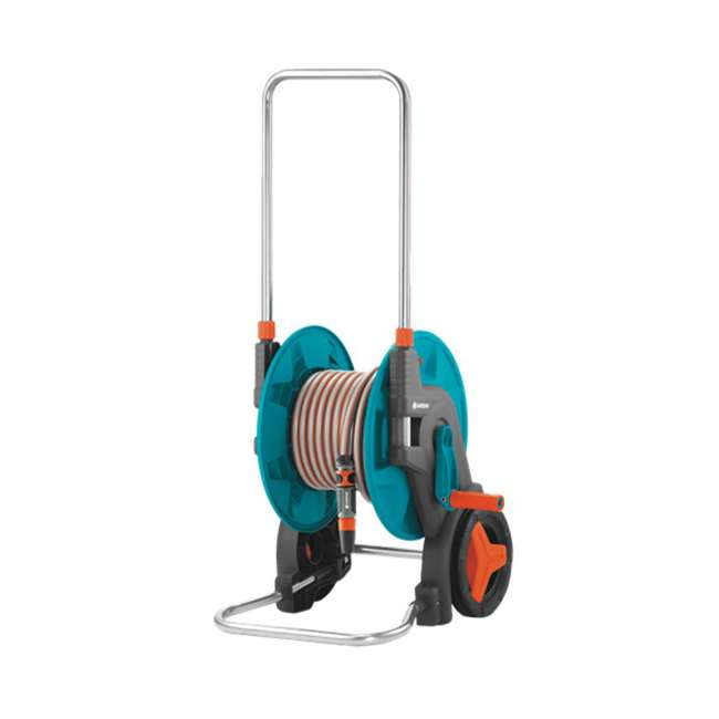 GARD-8001-U Gardena 196-Foot by 1/2-Inch Hose Cart with 65-Foot Hose