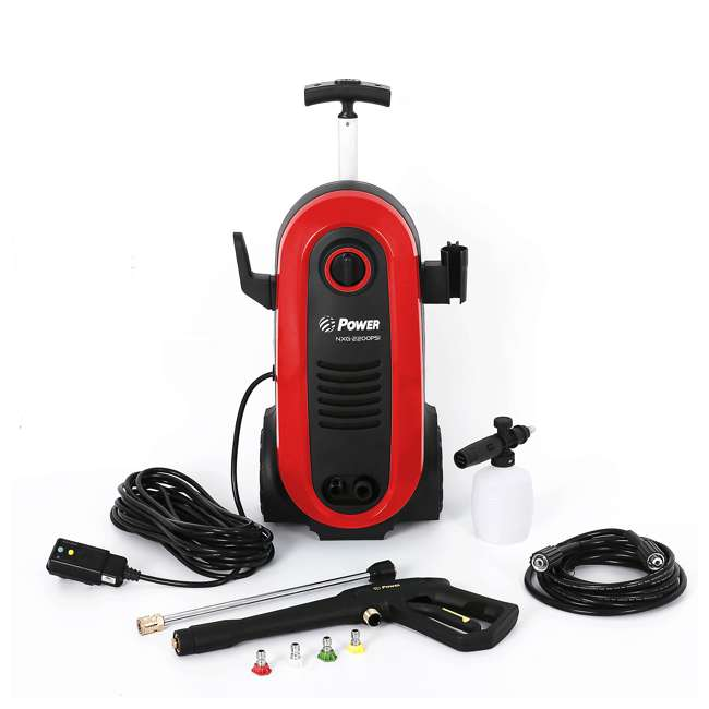 NXG-2200R-U-A Bloom USA 2200 PSI 1.76 GPM 14.5 Amp Electric Pressure Power Washer (Open Box)