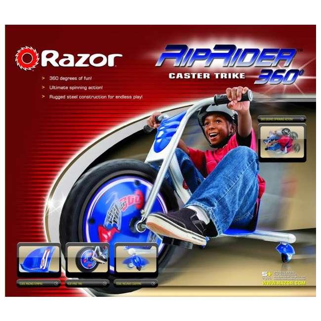 20036542 + 97778 Razor Rip Rider 360 Tricycle & Youth Sport Helmet 6