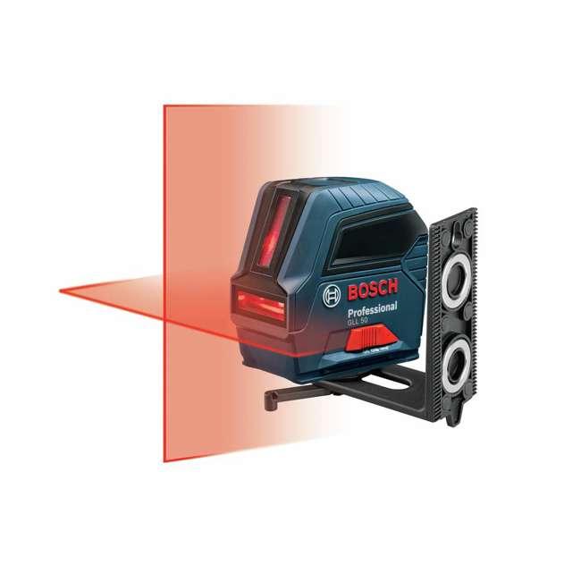GLL 50-RT-RB Bosch GLL 50 Self Leveling Cross Line Laser Level Kit (Certified Refurbished) 2