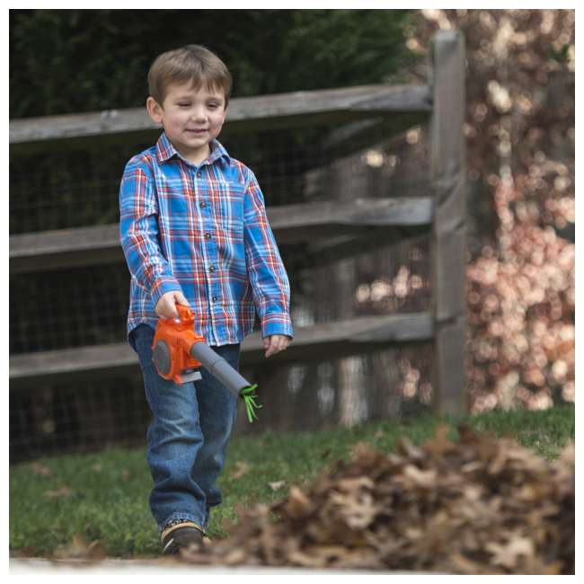589746401 Husqvarna Kids Toddler Toy Battery-Operated Lawn Leaf Blower 2