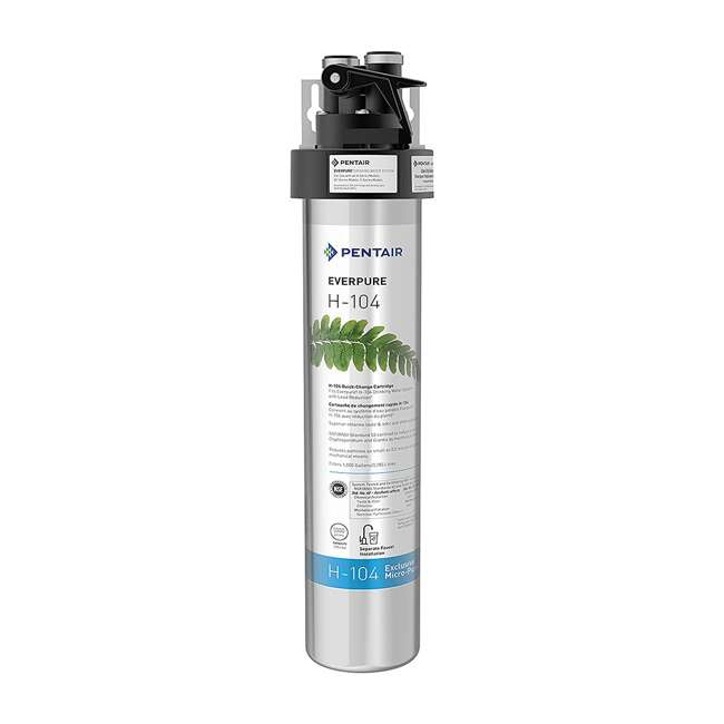 EV926271 Pentair Everpure H-104 125 PSI Compact Drinking Water Filtration System (2 Pack) 1