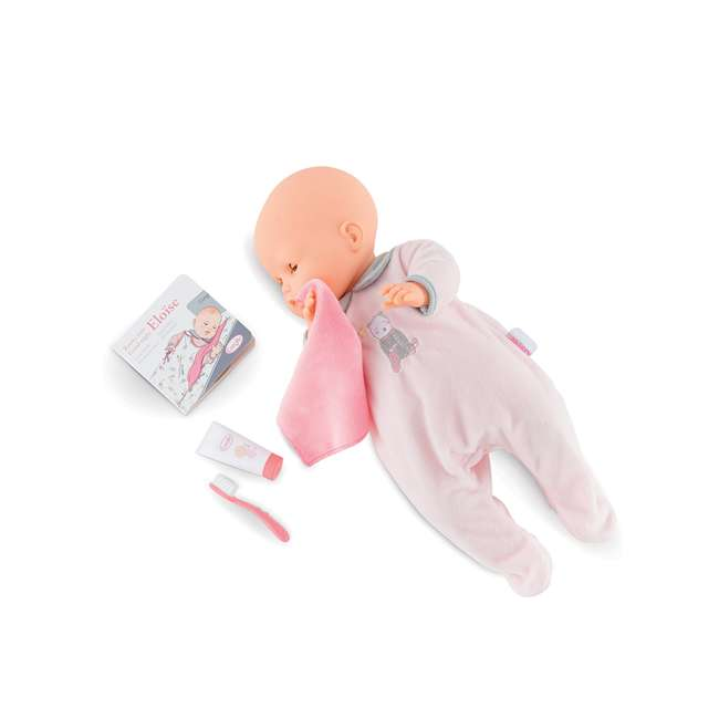 FRV09 + FPK17 Corolle Mon Grand Poupon 5 Piece Large Toy Pediatrician Doctor Set w/ Eloise Doll 11