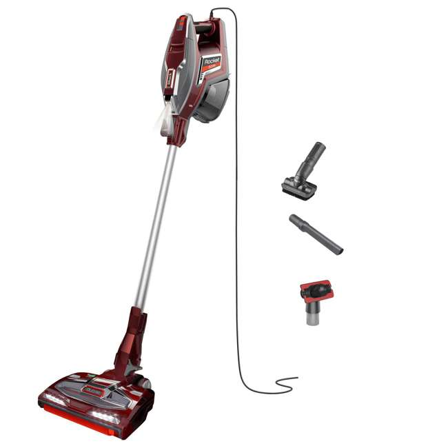 HV380_EGB-RD-RB-U-C Shark Rocket Upright Vacuum w/ DuoClean (Certified Refurbished)(For Parts)