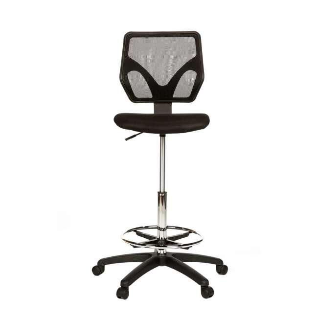 cool living adjustable stand up office desk drafting chair stand desk black drafting chair. Black Bedroom Furniture Sets. Home Design Ideas