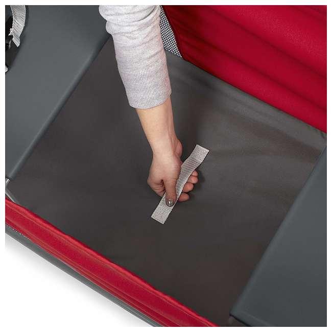 3965Z Radio Flyer Kid & Cargo 2 Seat Folding Wagon, Red 5