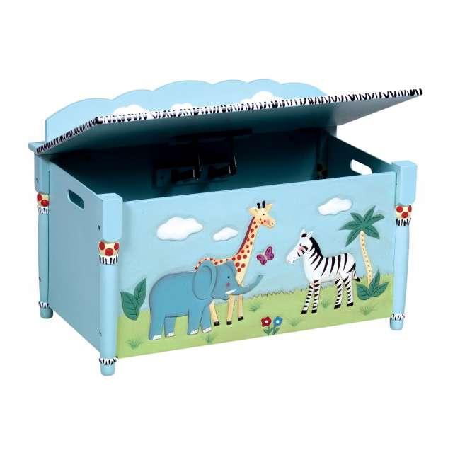 G83208 Guidecraft Safari Toy Box 2