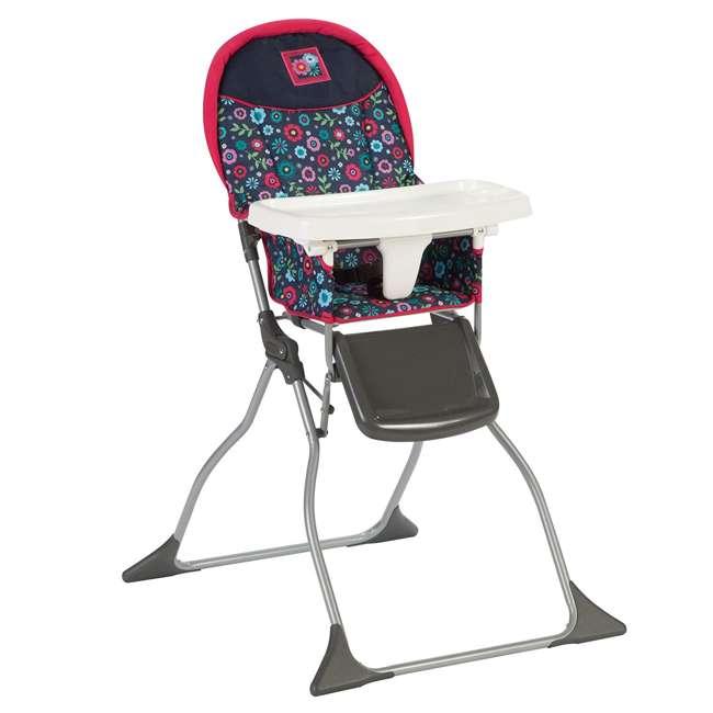 HC216DWD Simple Fold 3 Position High Chair, Flower Garden  4