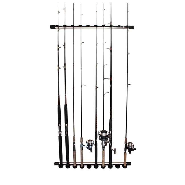 40-0005 Rush Creek Creations 38-4053 Round 16 Fishing Rod Storage Rack Organization